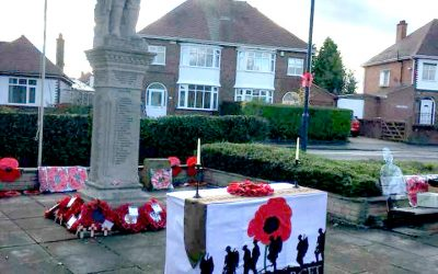 Sunday 11th November – Remembrance Sunday